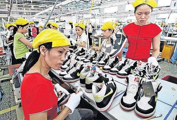 Nhà máy của Nike tại Việt Nam có quy mô rất lớn. Ảnh: CDSS Asia.