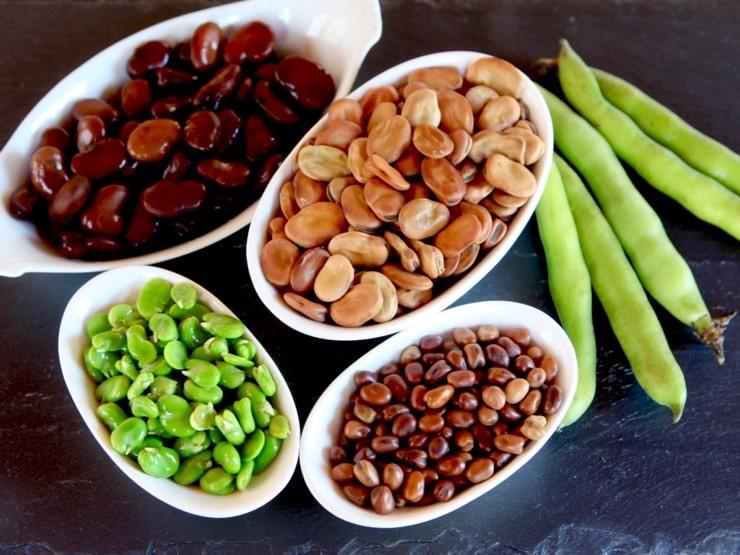 Đậu tằm có hàm lượng protein rất cao, lại sinh trưởng tốt ở những nơi có khí hậu lạnh. Ảnh: Tori Foods.