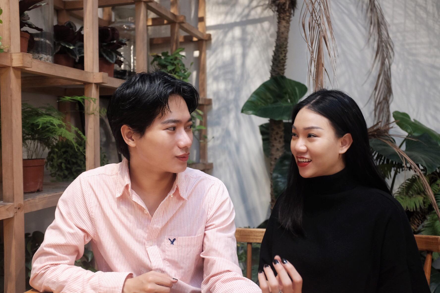 Đỗ Duy Khánh và Đinh Phương Anh - 2 founder của startup Skinlosophy.