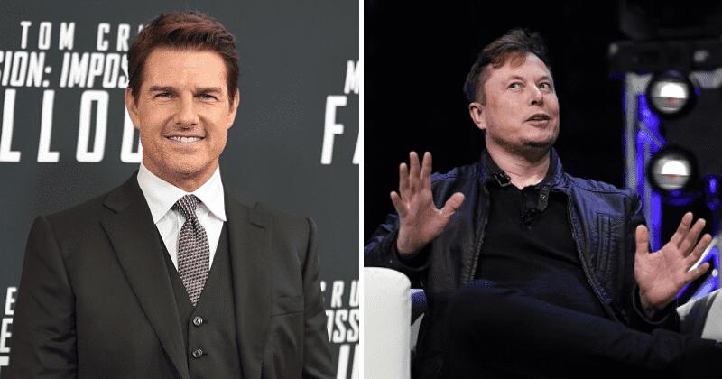 Nhiều người rất háo hức trước tin đồn hợp tác giữa Tom Cruise và Elon Musk, hai nhân vật cá tính và nổi tiếng nhất nước Mỹ. Ảnh: Shared.