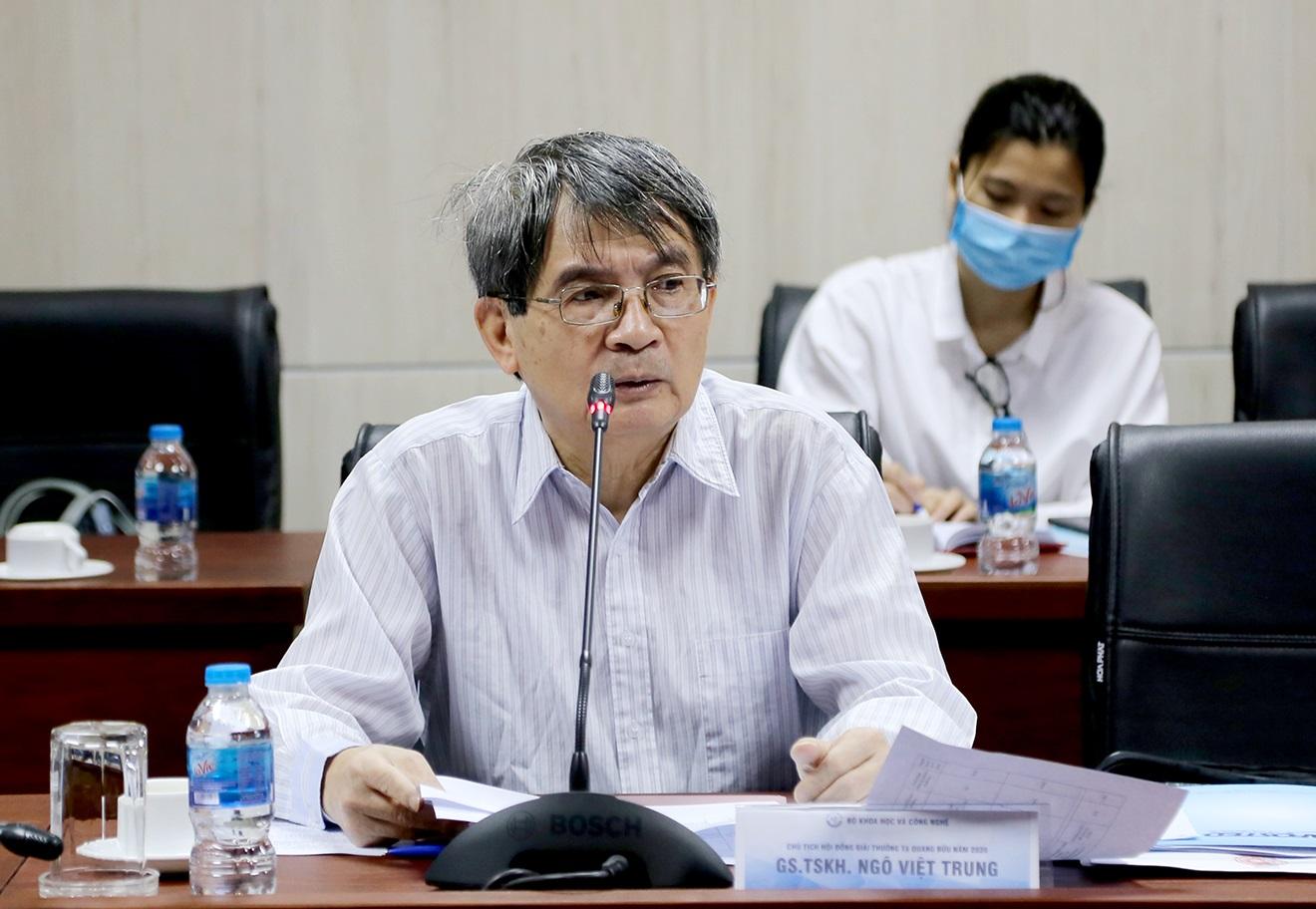 GS. Ngô Việt Trung