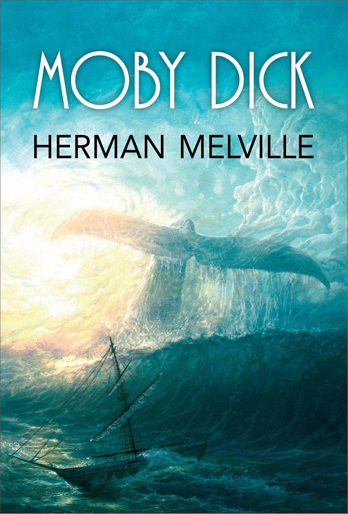 Tiểu thuyết Moby Dick của nhà văn Herman Melville. Ảnh: Kobo.