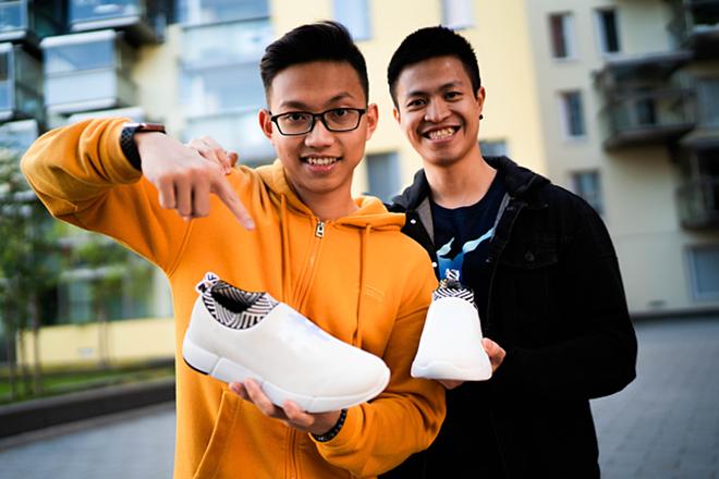 Chu Khánh Sơn và Trần Bảo Khánh trở thành những người Việt Nam đầu tiên lọt vào danh sách Under 30 của Forbes châu Âu (đại diện Phần Lan). Ảnh: NVCC