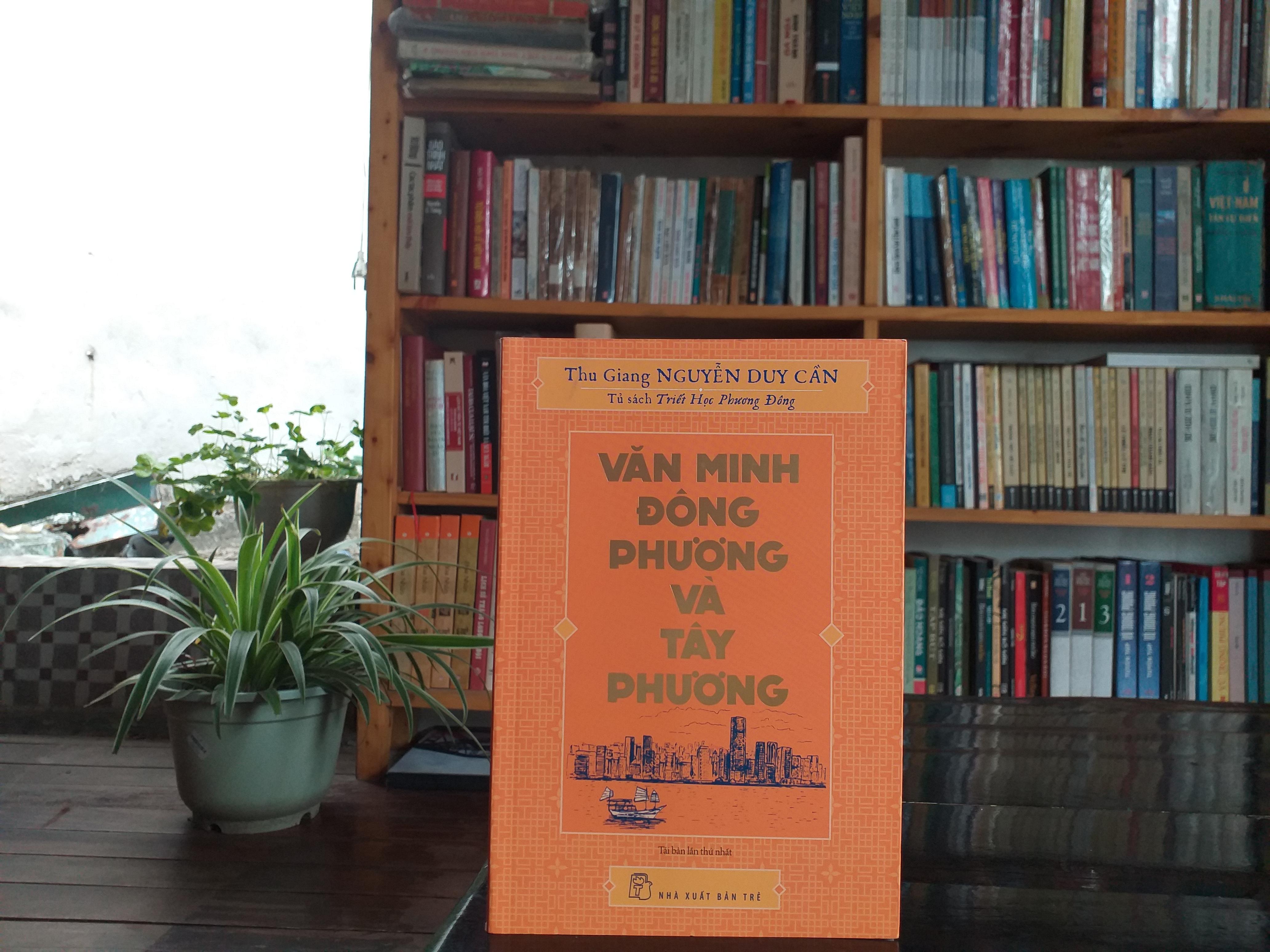 Văn minh Đông phương và Tây phương được viết năm 1957, 12 năm sau khi Nguyễn Duy Cần xuất bản cuốn sách đầu tay mang tên Duy tâm và Duy vật. Mới đây, cuốn sách đã được NXB Trẻ tái bản.