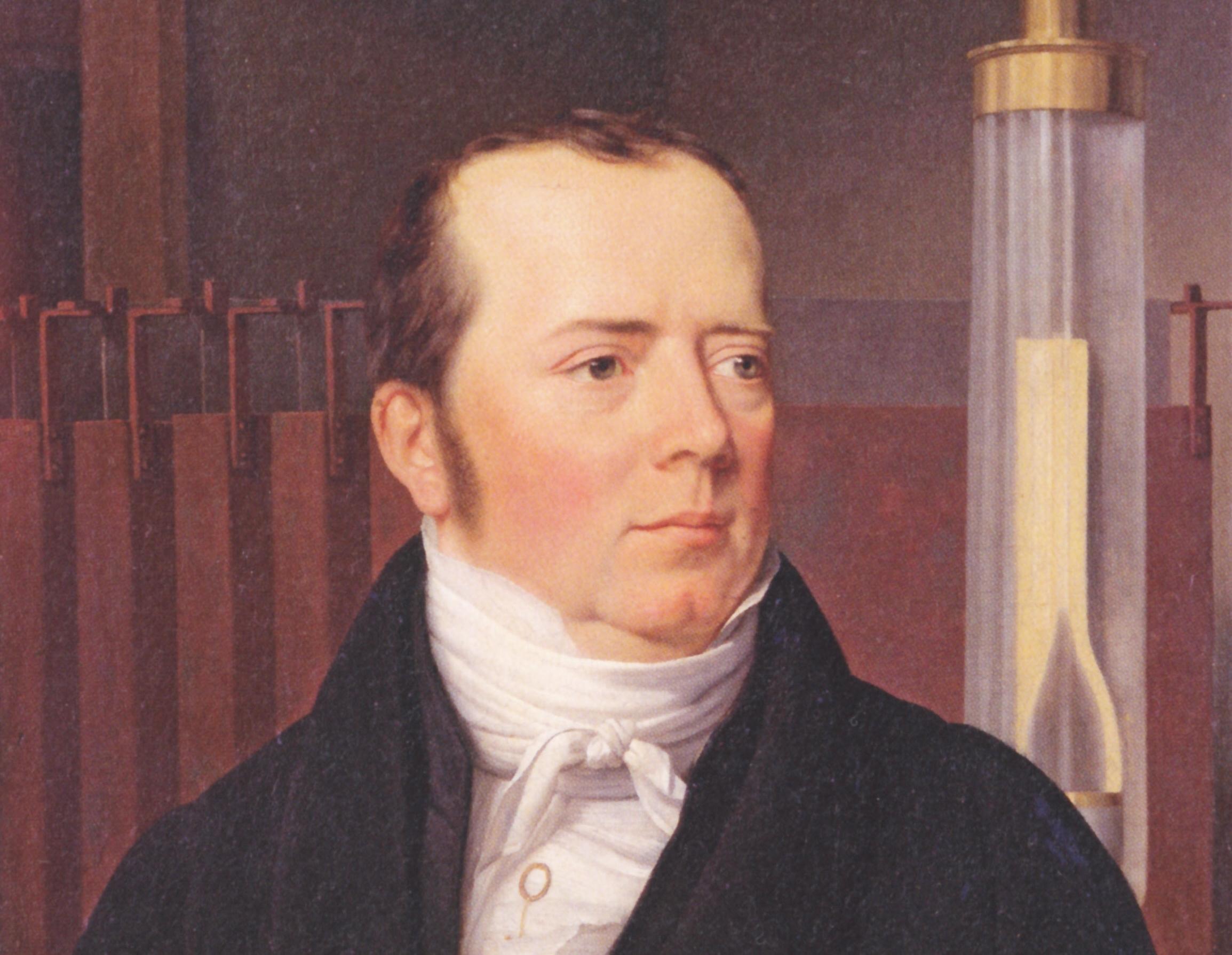 Nhà khoa học Hans Christian Oersted (1777 – 1851). Ảnh: Flickr.
