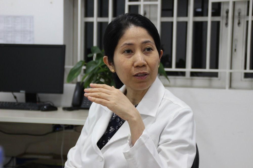 PGS TS Vương Thị Ngọc Lan – Giải thưởng chính giải thưởng Tạ Quang Bửu 2020.