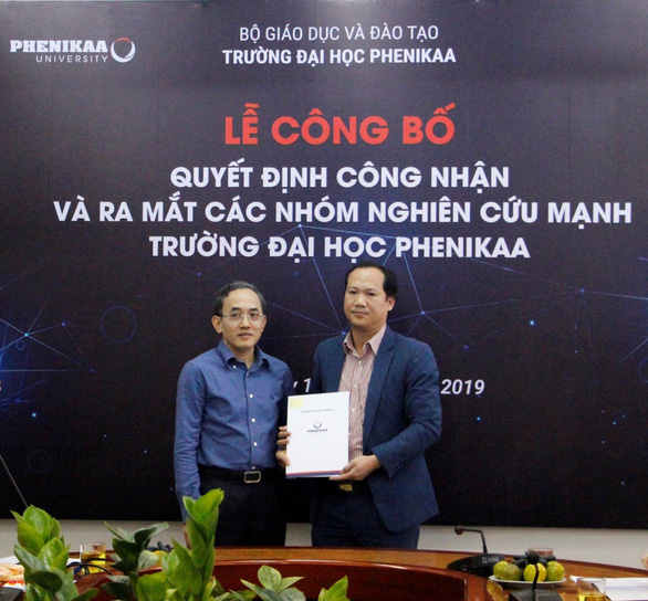 PGS. TS Phùng Văn Đồng đã xây dựng được nhóm nghiên cứu mạnh về Vật lý năng lượng cao và Vũ trụ học tại ĐH Phenikaa.