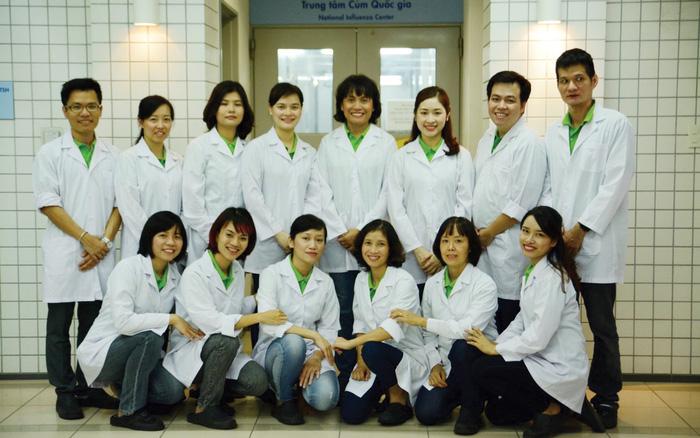 Tập thể Phòg thí nghiệm Phòng Thí nghiệm Cúm, Khoa Virus, Viện Vệ sinh Dịch tễ Trung ương