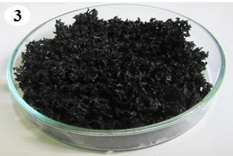 Biochar từ rơm rạ được nhóm nghiên cứu sử dụng để xử lý nước nhiễm dầu.