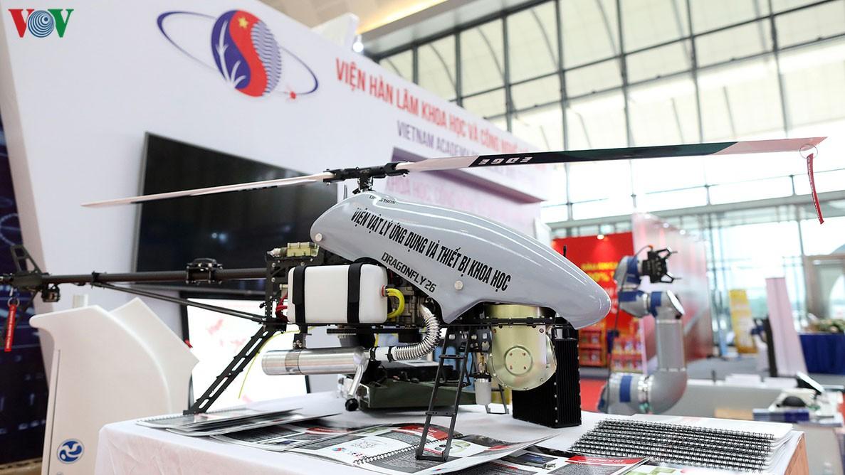 Máy bay trực thăng không người lái Dragonfly- DF26. Ảnh: VOV