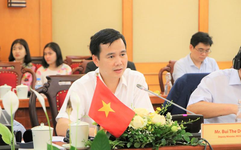 Thứ trưởng Bộ KH&CN Bùi Thế Duy
