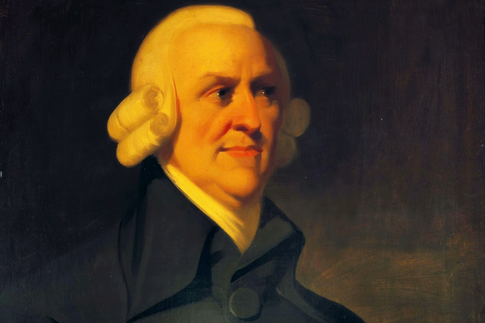 Adam Smith. Ảnh: Wikimedia.