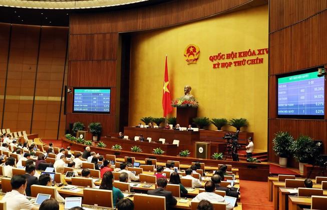 Ngày 8/6/2020, Quốc hội Việt nam phê chuẩn EVFTA và EVIPA với số phiếu gần như tuyệt đối | Ảnh: PLO