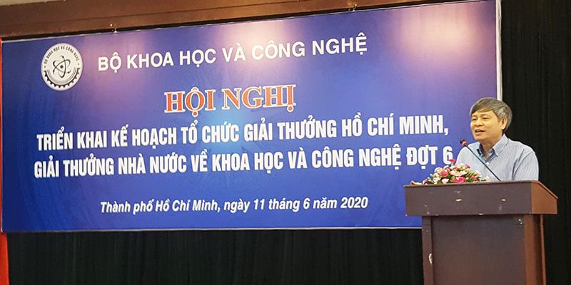Thứ trưởng Phạm Công Tạc phát biểu tại Hội nghị    Ảnh: KA