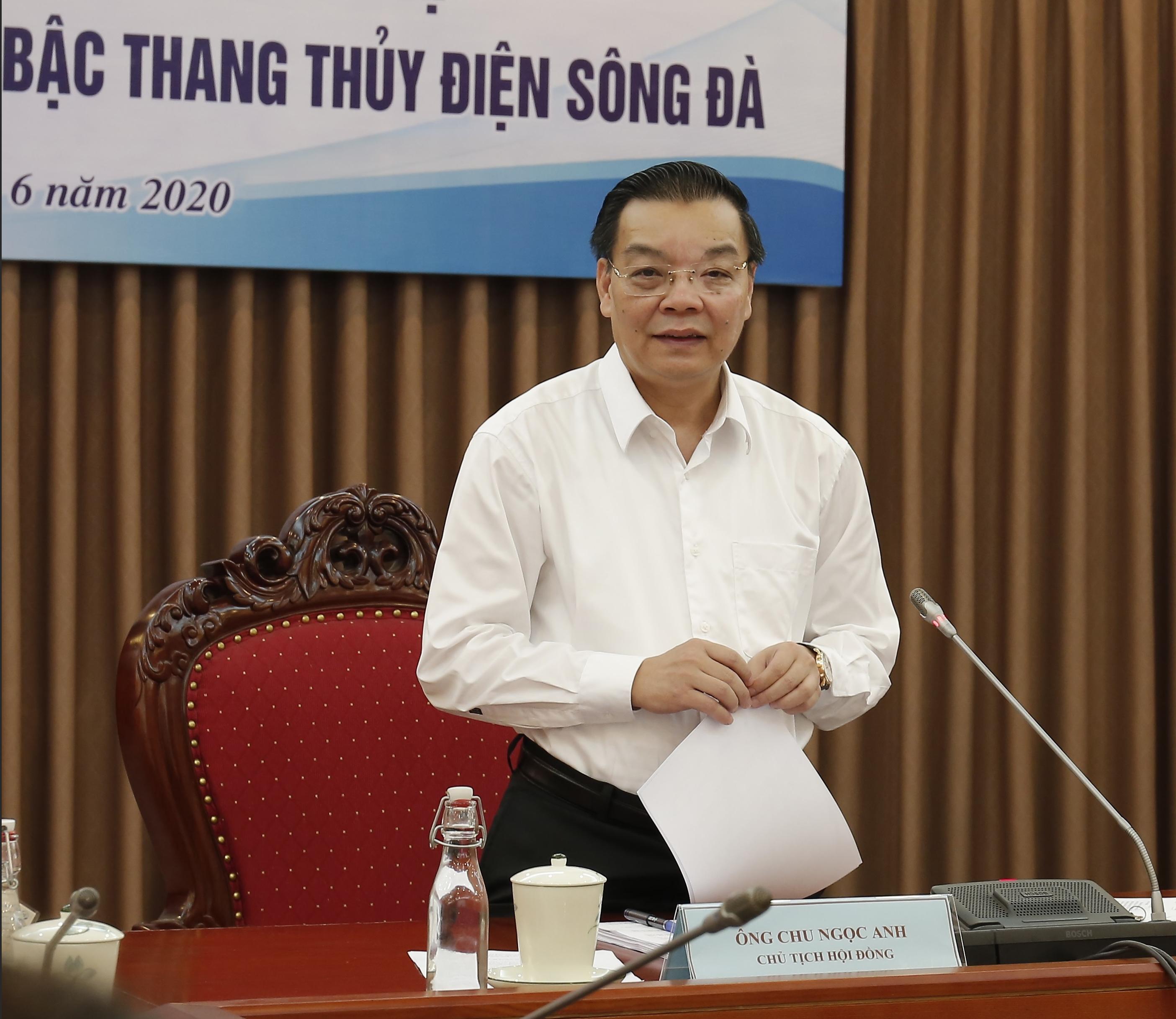 Bộ trưởng Bộ KH&CN Chu Ngọc Anh chủ trì phiên họp Hội đồng An toàn hệ thống thủy điện trên bậc thang thủy điện sông Đà 2020.