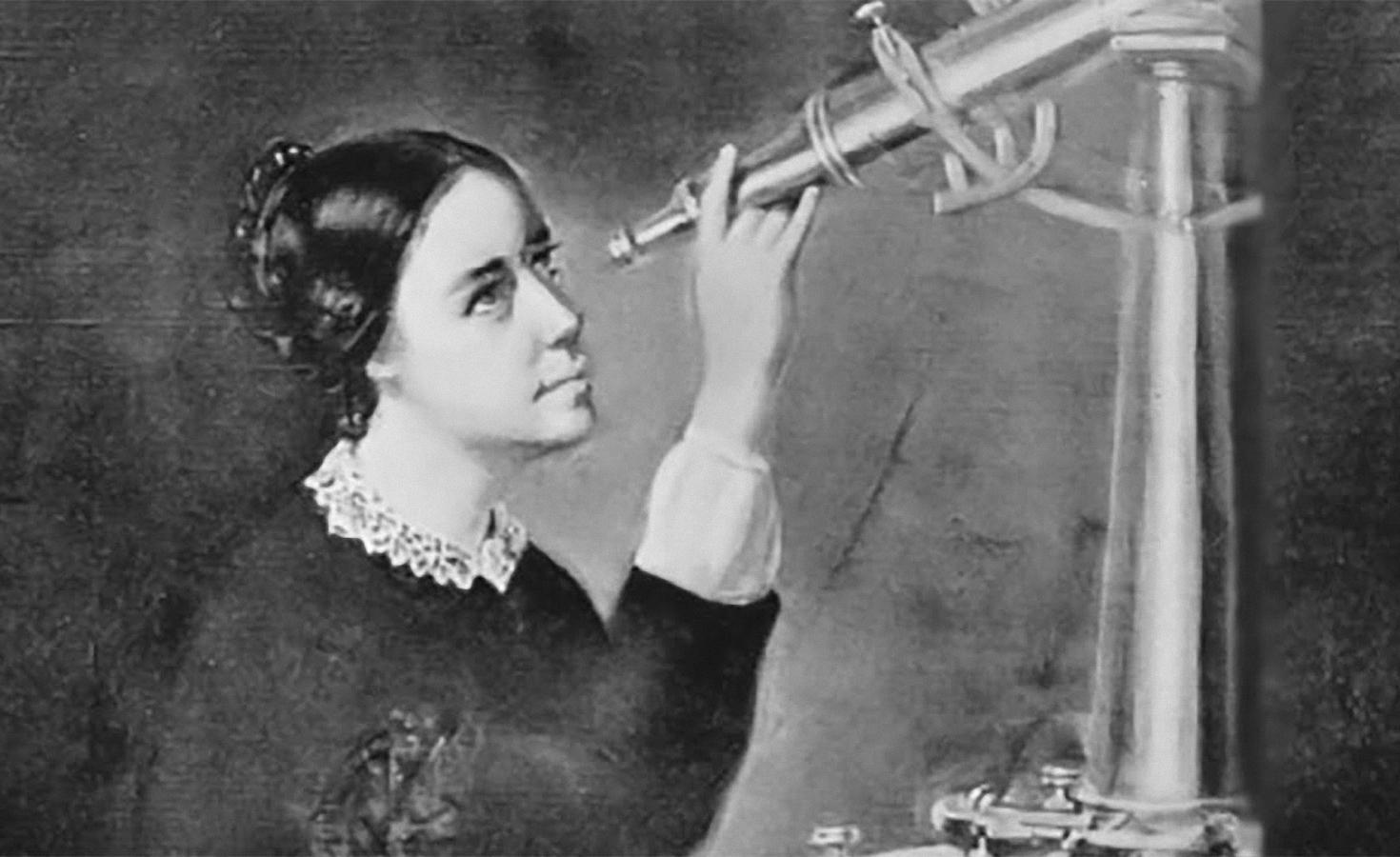 Nhà thiên văn Maria Mitchell. Ảnh: History.