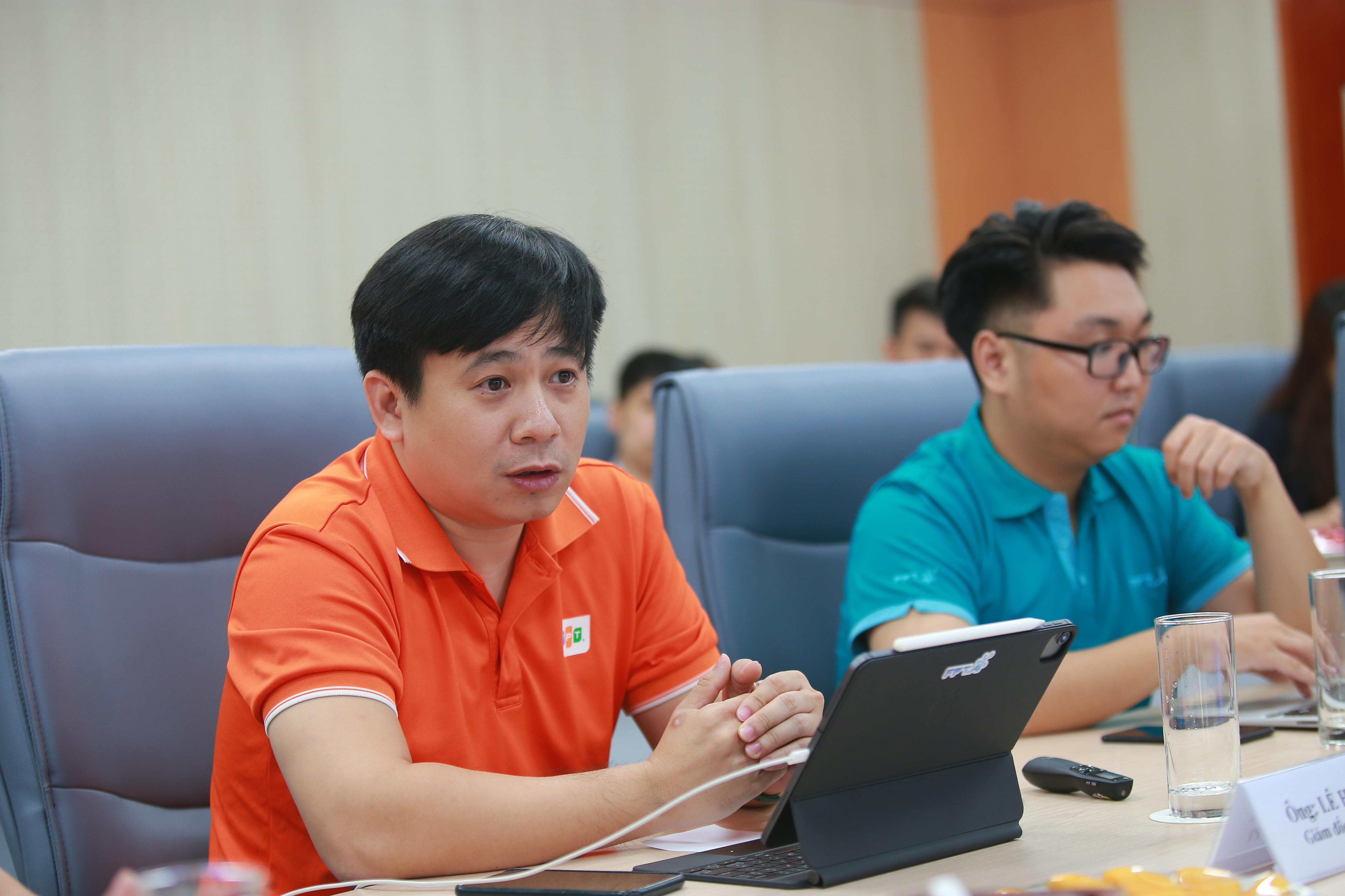Ông Lê Hồng Việt Giám đốc Công nghệ của FPT.