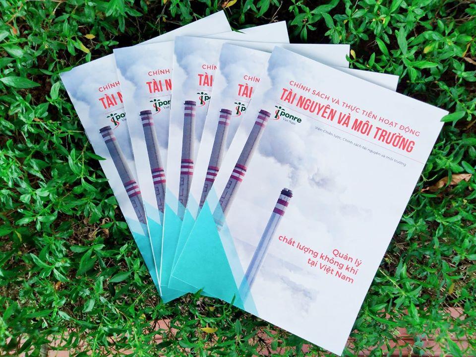 Công bố chuỗi ấn phẩm về chất lượng không khí tại Việt Nam