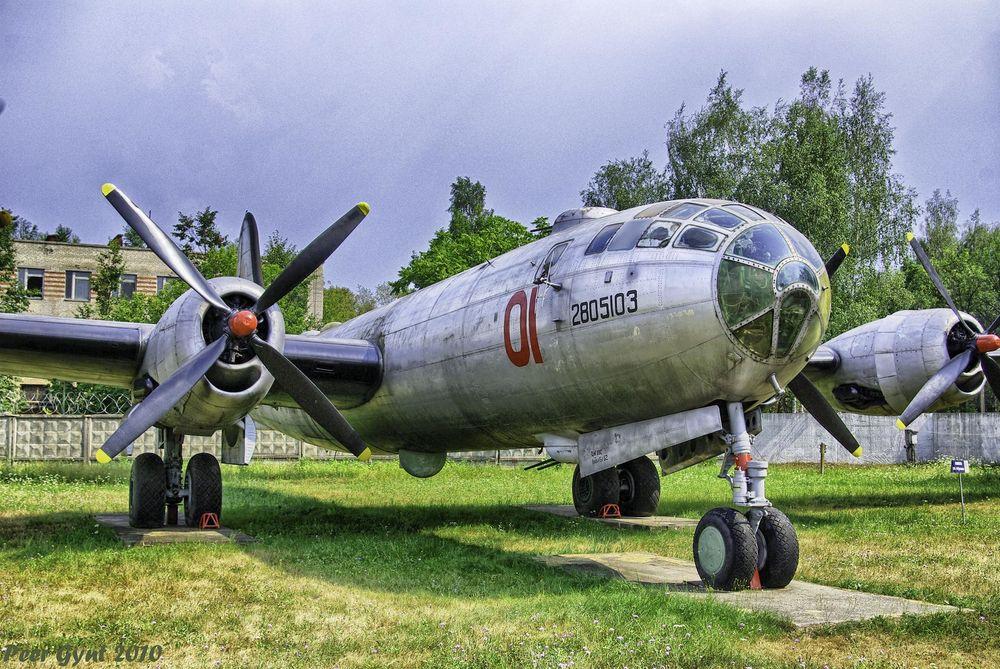 Một chiếc Tu-4 đang được lưu giữ tại Bảo tàng Không quân Monino ở Moscow. Ảnh: Flickr.