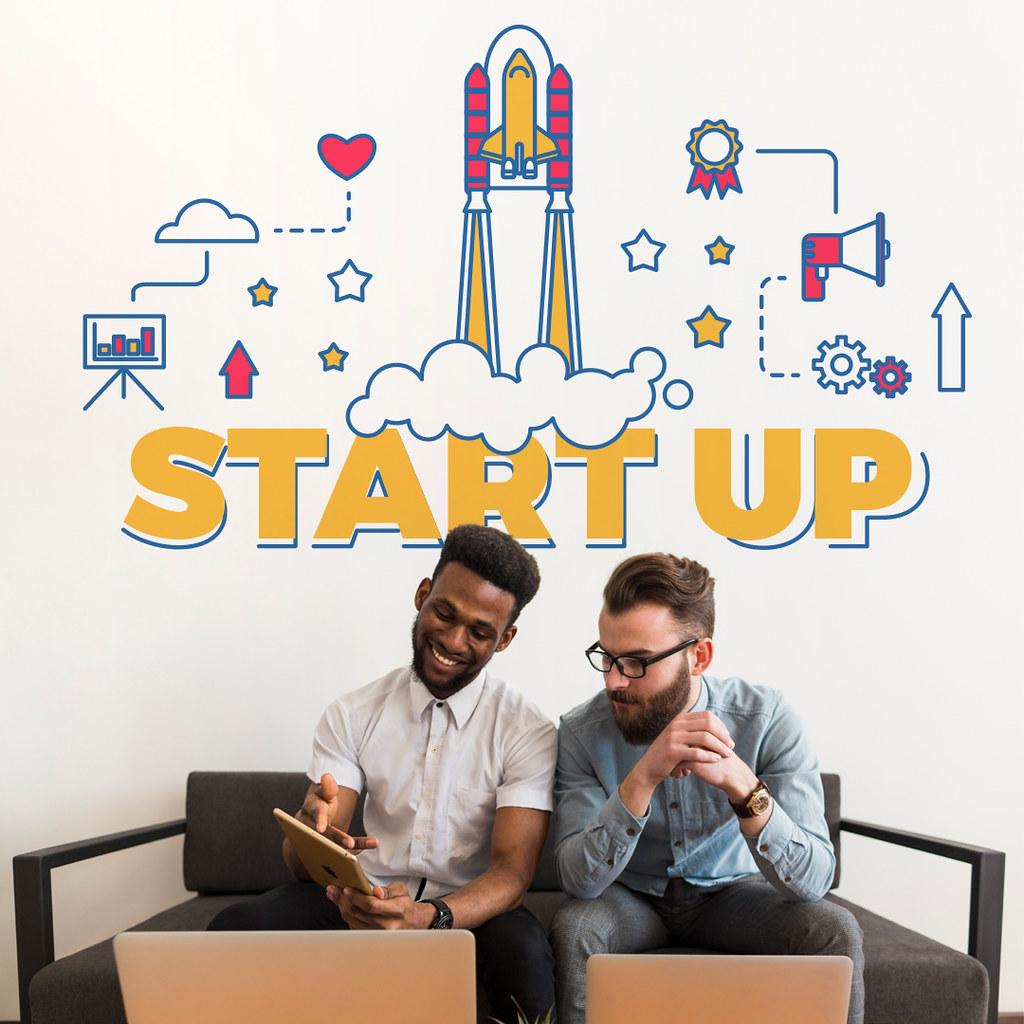 Startup đóng vai trò quan trọng để hồi sinh nền kinh tế. Ảnh: chefdentreprise