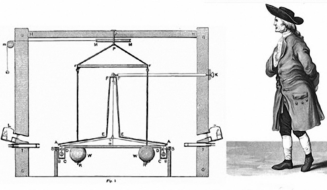 Henry Cavendish và thí nghiệm giúp xác định hằng số hấp dẫn (G). Ảnh: History.