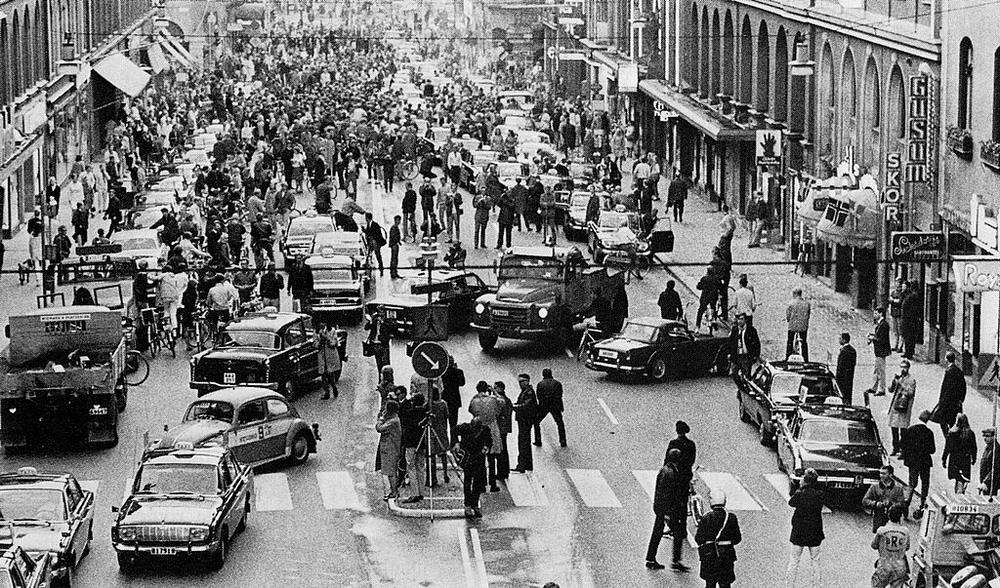 Giao thông ở Thụy Điển trong quá khứ.