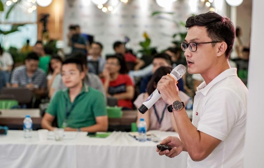 Anh Tuấn Lê - CEO của Nanolife, thành viên Batch 01 tại Open Pitching Day