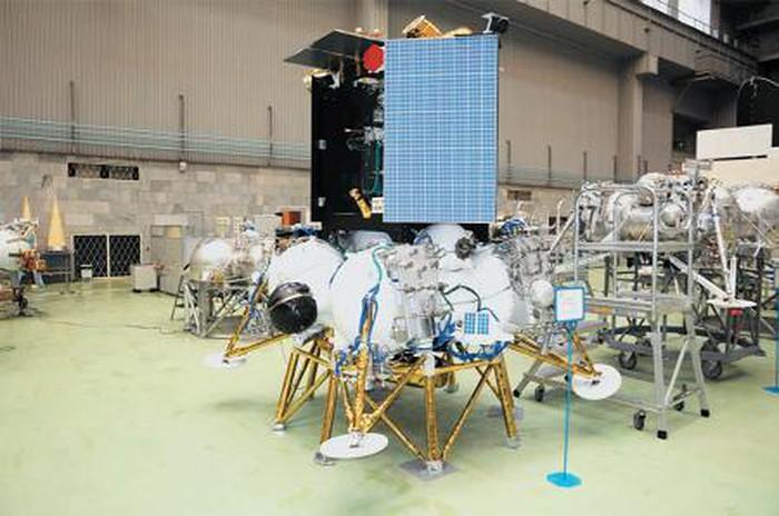 Tàu vũ trụ Luna-25. Ảnh: Roscosmos.