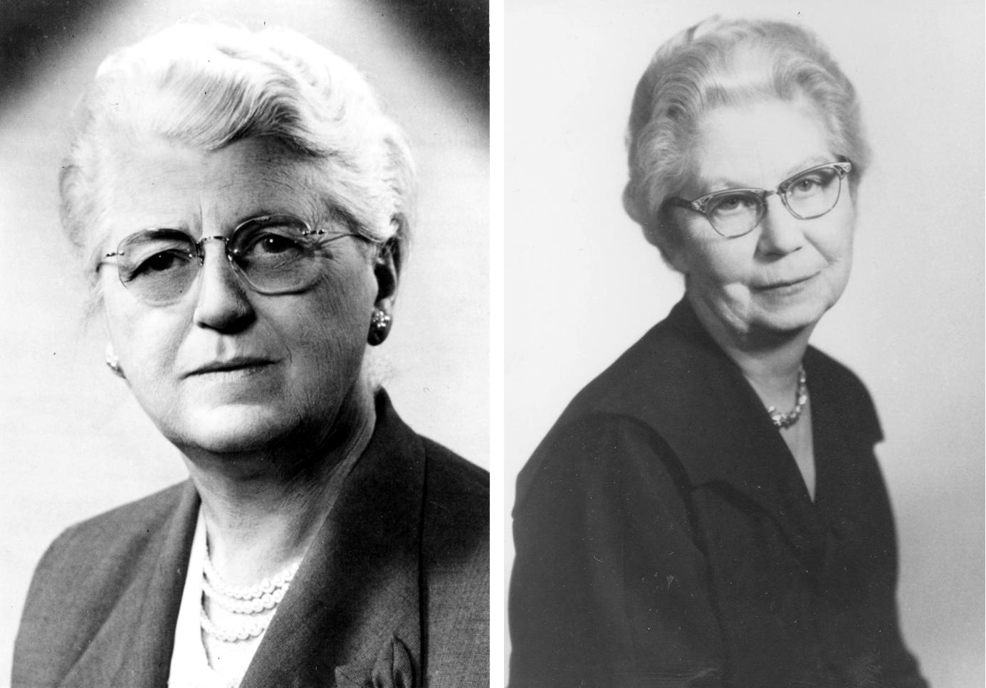 Pearl Kendrick (bên trái) và Grace Eldering. Ảnh: Miwf.org.