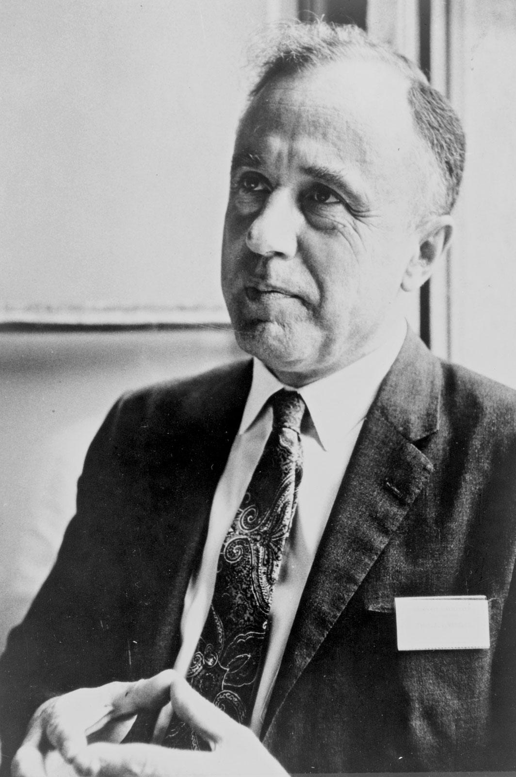 John Archibald Wheeler. Ảnh: Britannica