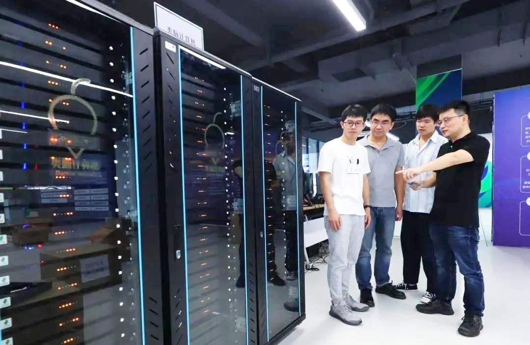 Máy tính Darwin Mouse của Đại học Chiết Giang. Ảnh: Zhejianglab.