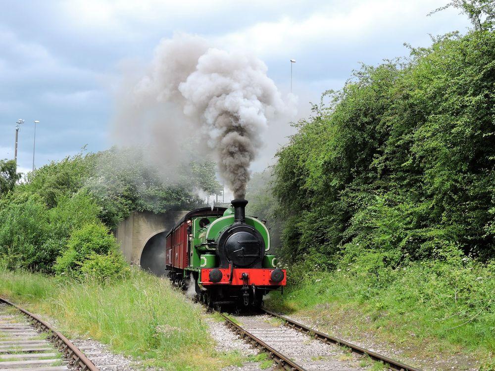 Tuyến đường sắt Middleton ở Anh. Ảnh: David Spencer/Flickr.