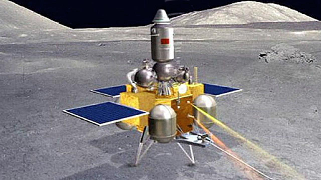 Tàu Hằng Nga 5. Ảnh: Spaceflight Now.
