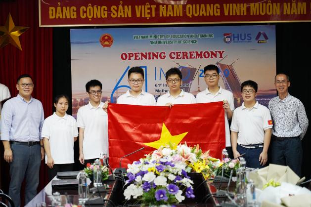 6 học sinh Việt Nam tham dự IMO 61 năm 2020
