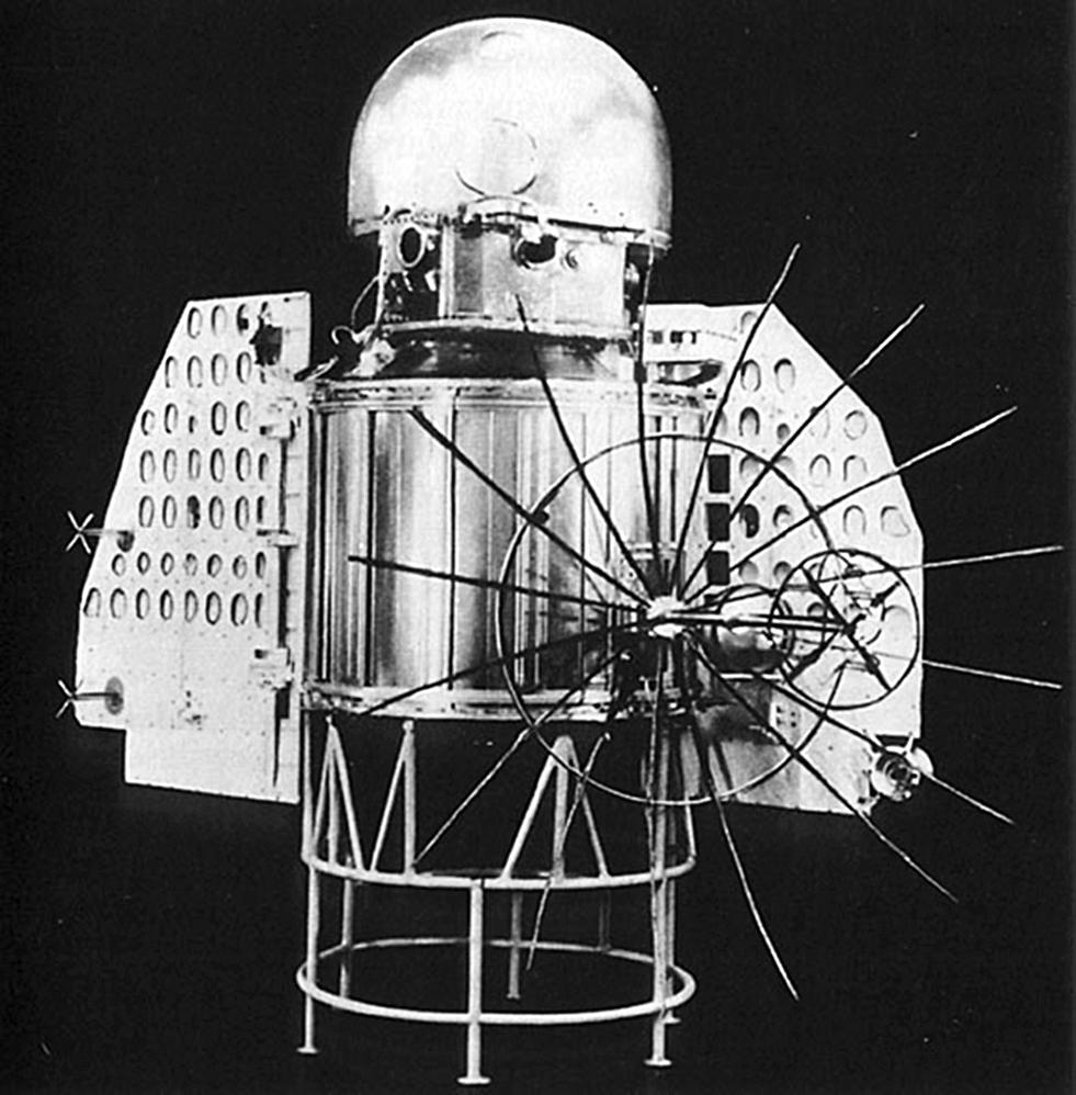 Tàu thăm dò Venera-1. Ảnh: fracademic.com.
