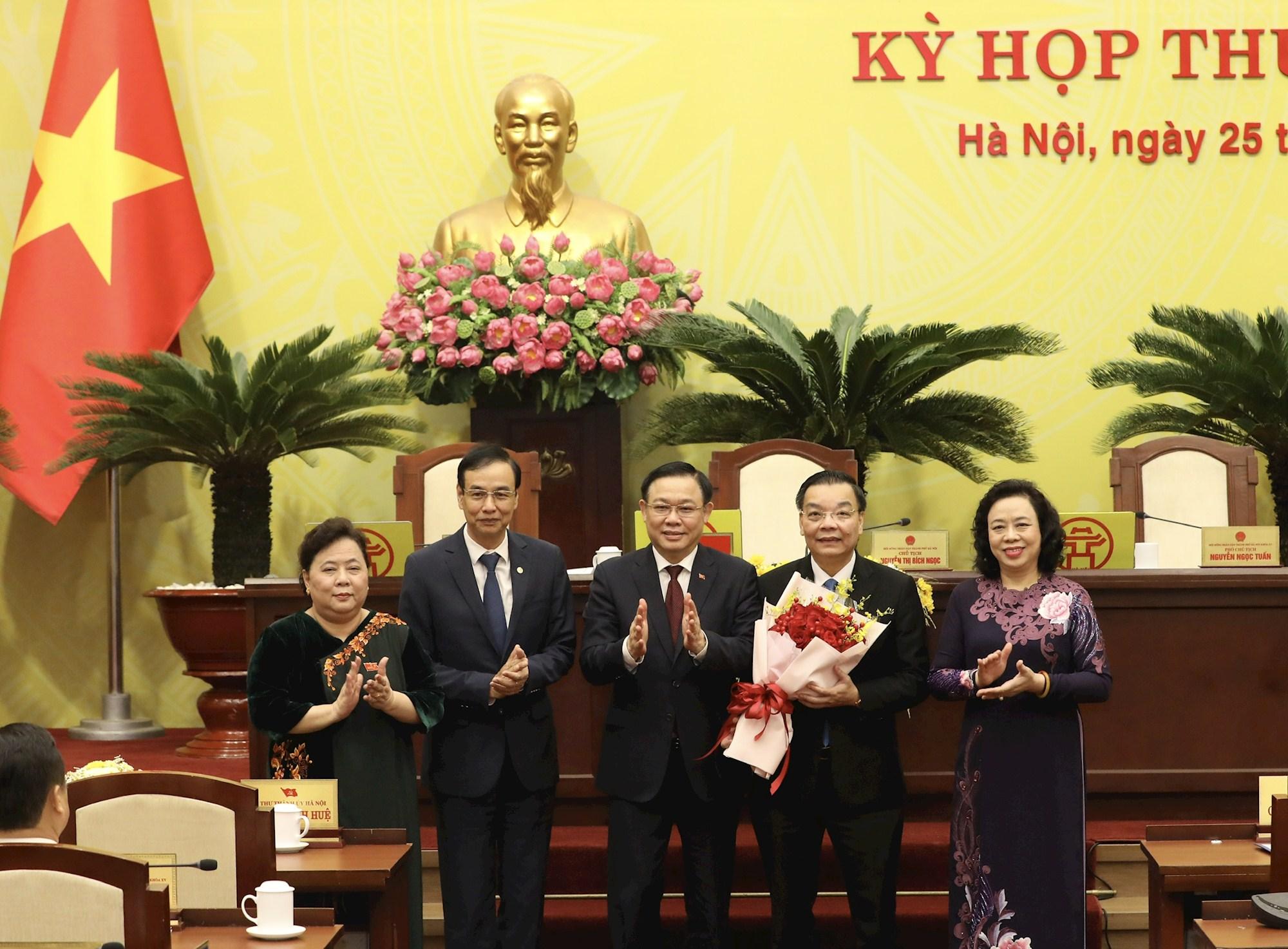 Ông Chu Ngọc Anh được bầu làm Chủ tịch UBND thành phố Hà Nội
