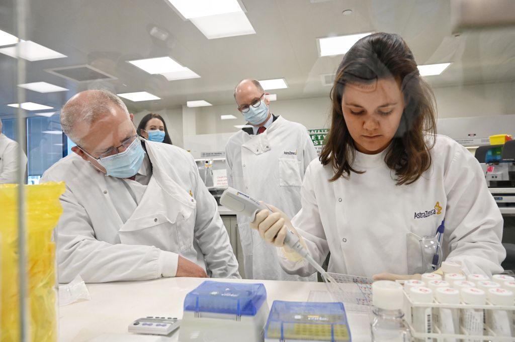 Phòng thí nghiệm của công ty AstraZeneca.