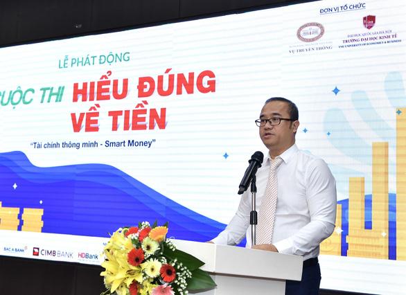 GS.TS Nguyễn Trúc Lê, Hiệu trưởng Trường ĐH Kinh tế   Ảnh: BTC