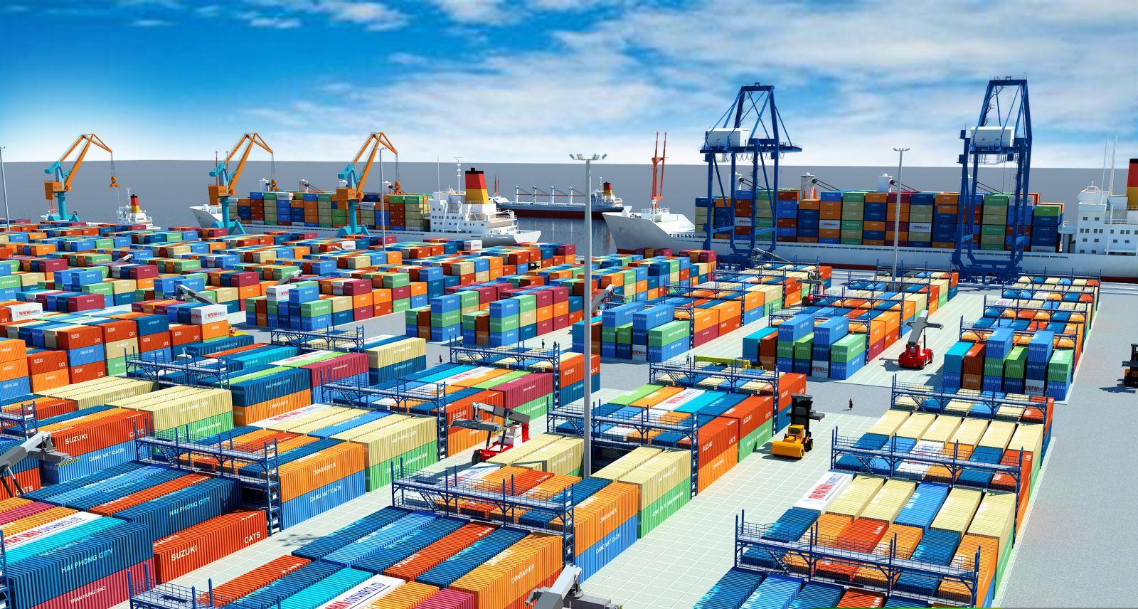 Xuất khẩu của Việt Nam vẫn tăng mạnh trong nửa đầu năm 2020, trong hoàn cảnh khó khăn vì Covid-19. Ảnh: VGP News.