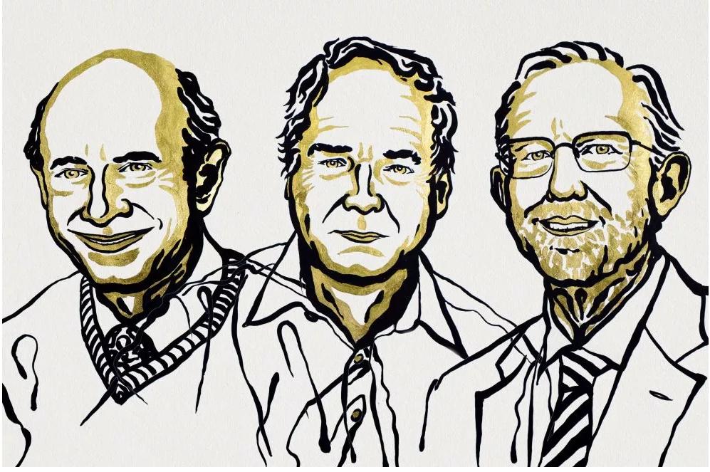 Các nhà khoa học được giải Nobel Y học năm 2020 (từ trái qua phải): Harvey J. Alter, Michael Houghton and Charles M. Rice. Nguồn: nobelprize.org.