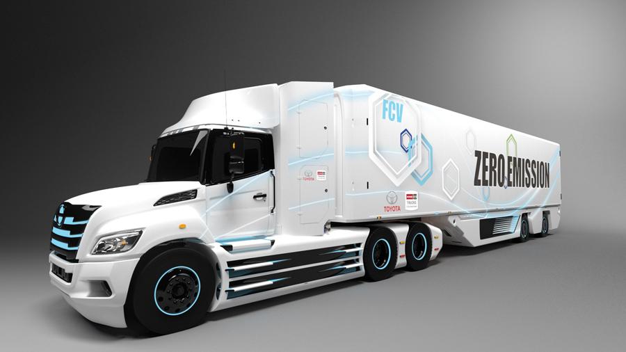 Toyota và Hino phát triển xe tải chạy hydrogen cho thị trường Bắc Mỹ