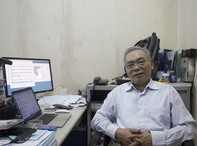 Giáo sư Phan Văn Tân, Khoa Khí tượng, Khí hậu và Hải dương học (trường ĐH Khoa học tự nhiên, ĐHQGHN).