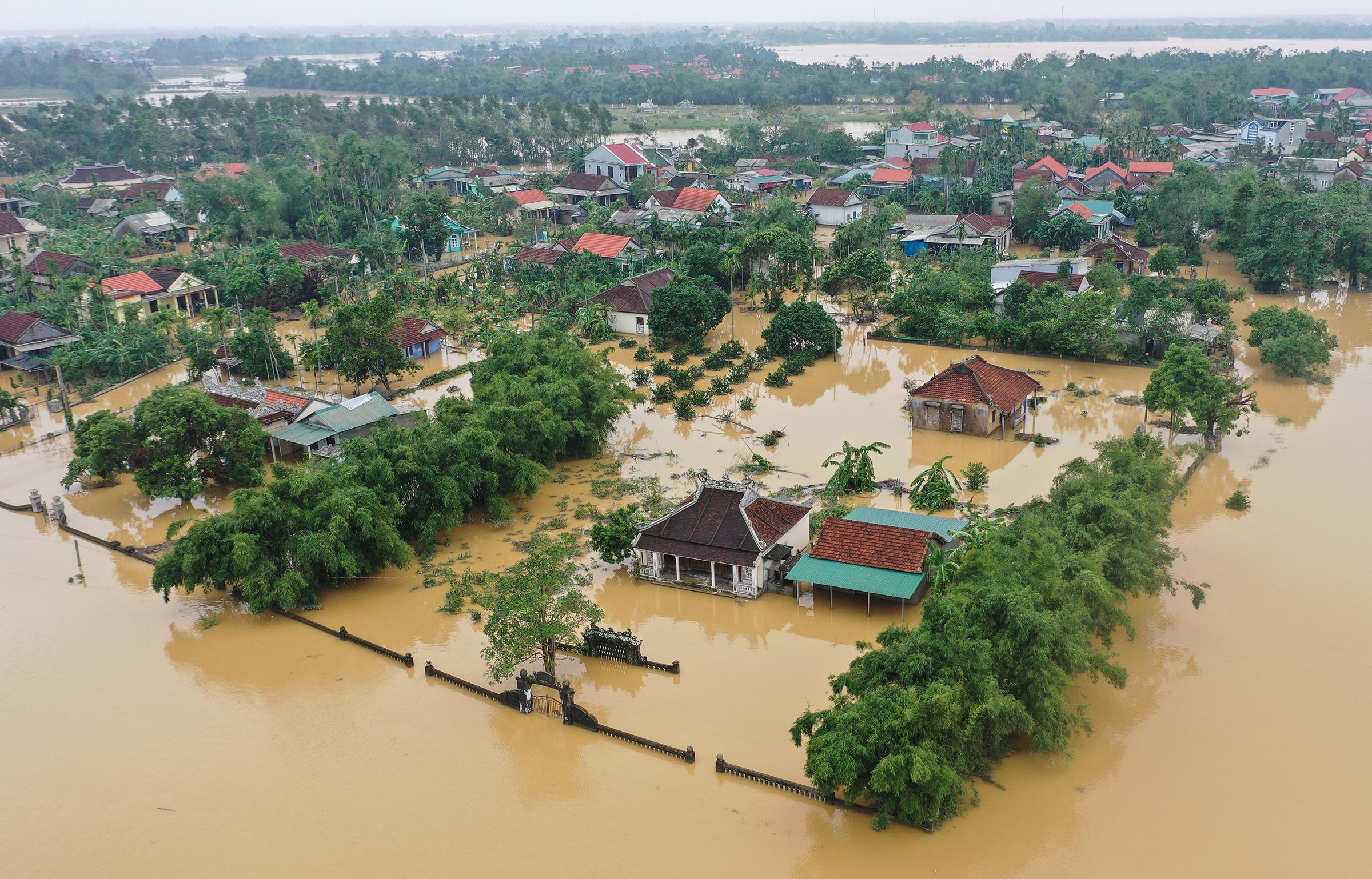 Lũ lụt miền Trung năm 2020   Ảnh: Giang Huy