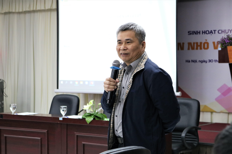 Ông Nguyễn Tài Sơn, chuyên gia về thủy điện. Ảnh: MH