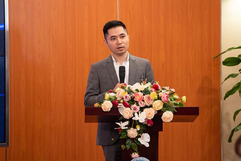 Ông Bùi Đình Giáp - Giám đốc phát triển sản phẩm của akaBot. Ảnh: BTC
