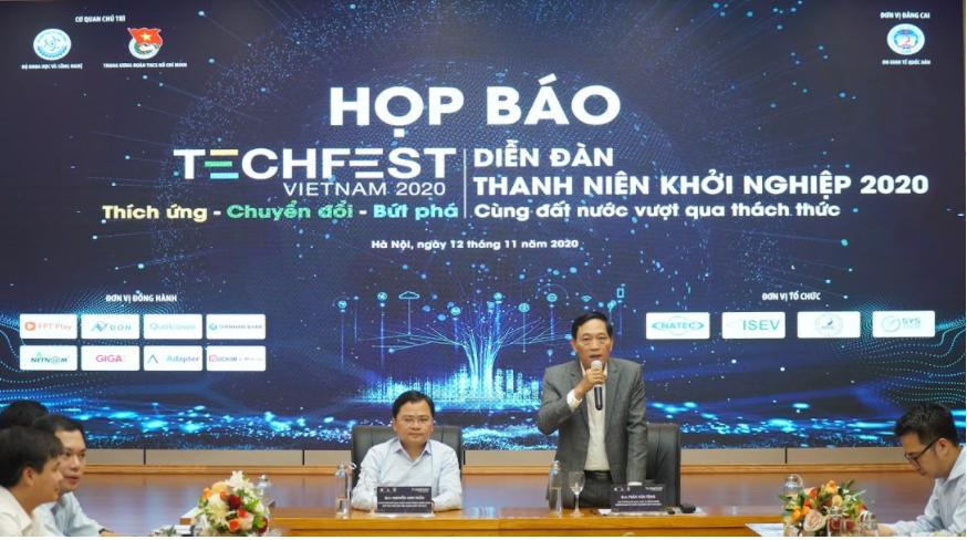 Họp báo công bố Techfest 2020 | Ảnh: BTC
