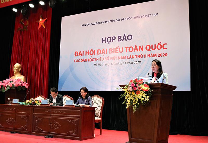 Gần 2.000 đại biểu dự Đại hội đại biểu toàn quốc các dân tộc thiểu số lần thứ II