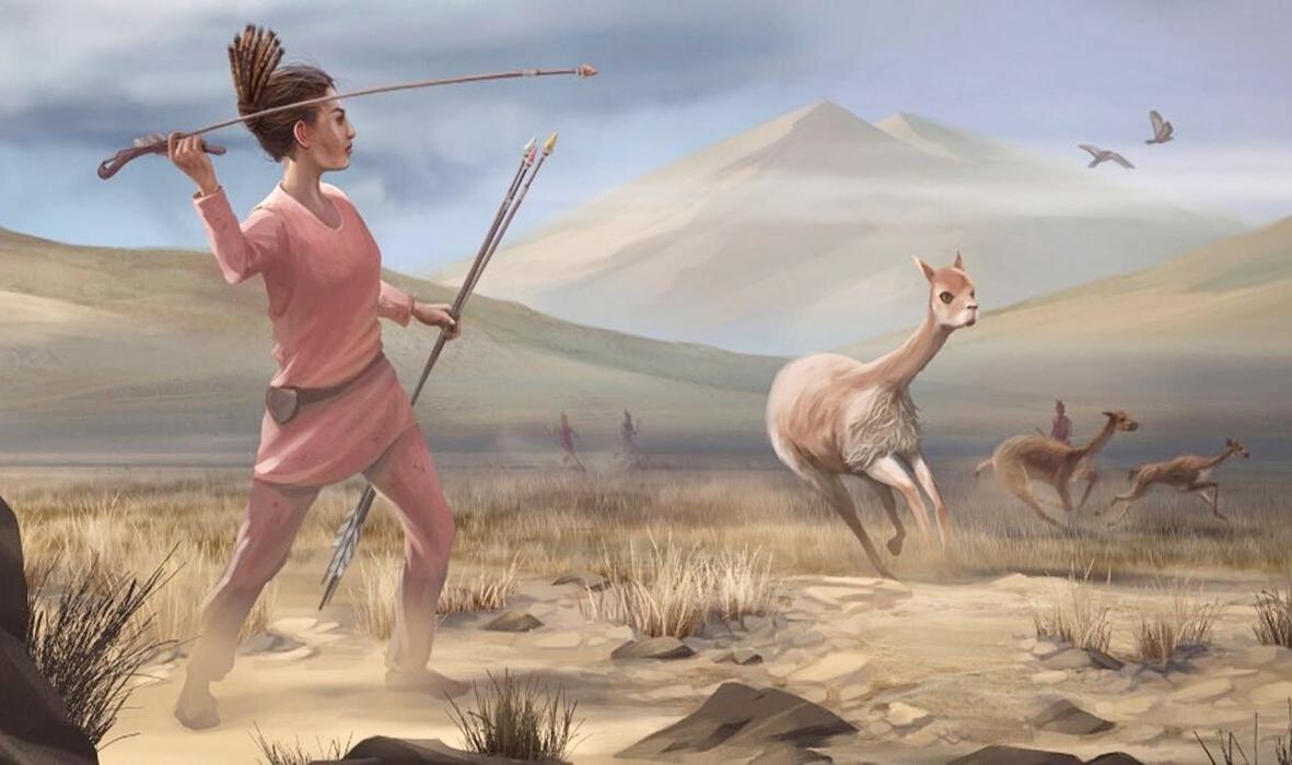 Phụ nữ thời tiền sử ở châu Mỹ cũng là những thợ săn. Ảnh: UC Davis.