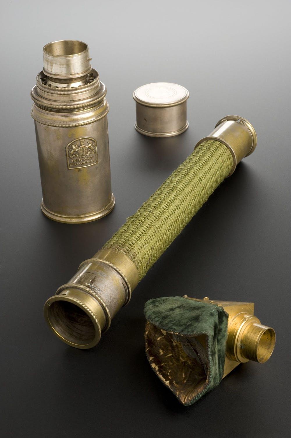 Ống hít chloroform mà bác sĩ John Snow đã sử dụng cho Nữ hoàng Victoria để giảm bớt cơn đau khi sinh nở. Ảnh: Wikimedia.