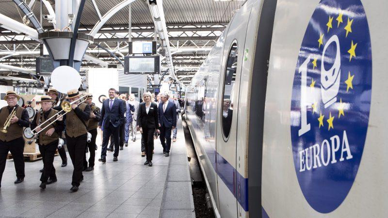 Năm 2021 sẽ là năm đường sắt châu Âu. Nguồn: EC